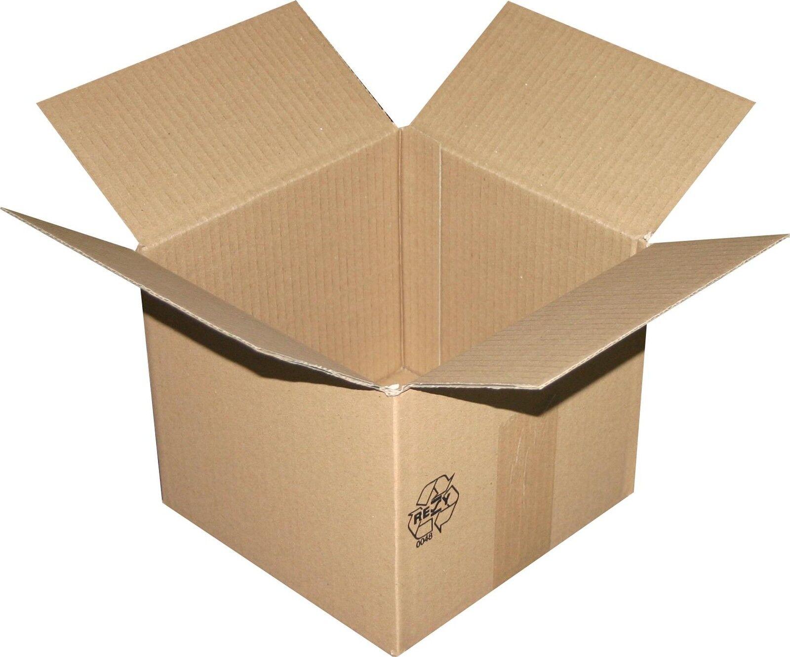 800 pièces cartons pliants, carton, Cartons 200x200x180 mm 1 1 1 ondulé 1cf1a2
