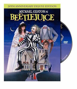 Details about BEETLEJUICE DVD - SINGLE DISC EDITION - NEW UNOPENED -  MICHAEL KEATON
