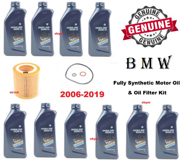 BMW Motor Engine Oil & Filter Kit 325i 435i 328i 330i 525i
