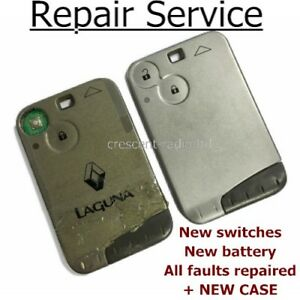 REPAIR-SERVICE-Renault-Laguna-Espace-Vel-Satis-key-card-fob-remote-plip-case