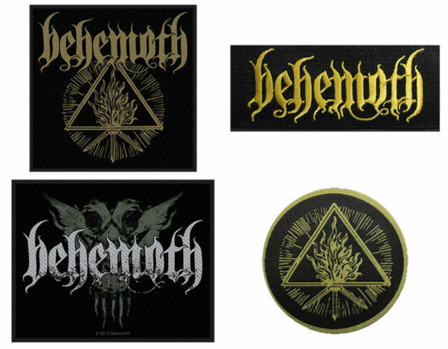 Behemoth Sew On Patch/Patches NEW OFFICIAL. Choice of 4 designs