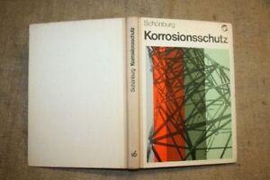 Fachbuch-Korrosionsschutz-Metallbau-Feuerverzinkung-Anstriche-Maler-DDR