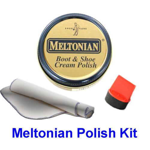 All Colors! Buffing Cloth Meltonian Polish- Includes Polish Polish Dauber