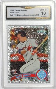 2011-Topps-Update-Diamond-Anniversary-US175-GEM-MINT-10-Mike-Trout-RC