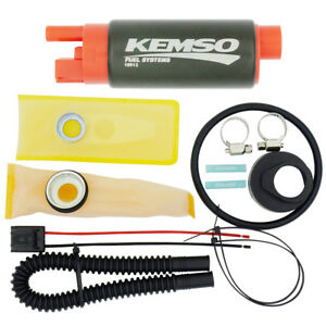 KEMSO 340LPH High Performance Fuel Pump for Ford Mustang GT 5.0//4.6 1986-1997