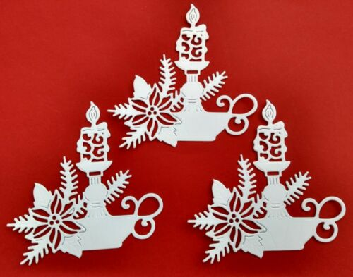 """/""""CHRISTMAS CANDLESTICK./"""" 10 Die cuts. See postal discount"""