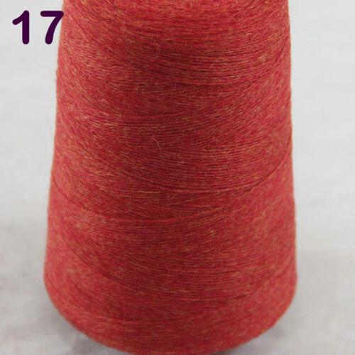 NEW Luxurious Soft 100g Mongolian Pure Cashmere Hand Knitting 1Cone Crochet Yarn