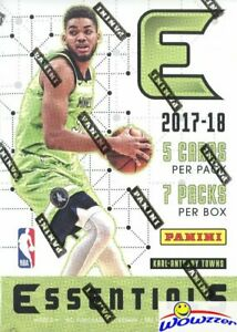 2017-18-Panini-Essentials-Basketball-EXCLUSIVE-Factory-Sealed-Blaster-Box