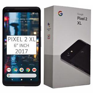 Nuevo-Y-En-Caja-6-034-Google-Pixel-2-XL-2017-G011C-128GB-Negro-Desbloqueado-de-fabrica-4G-Celular