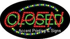 OPEN CLOSED Flashing & Animated Real LED SIGN