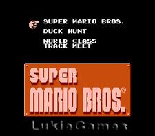 Super Mario/Duck Hunt/World Class Track - Nintendo Game