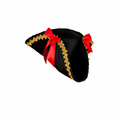 Adults Pirate Hat Men Women Pirates Fancy Dress Costume Accessories