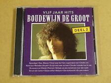 2-CD / BOUDEWIJN DE GROOT - 5 JAAR HITS DEEL 2