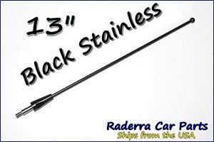 "2003-2007 Saturn Ion 13/"" Black Stainless AM FM Antenna Mast FITS"