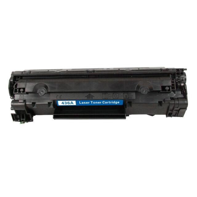 1x CB436A 36A Black Toner Cartridge For HP P1505 P1505n M1120n M1522nf MFP