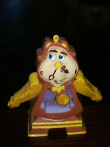 """Disney Beauty And The Beast Cogsworth Bendable Bend'Em Loose 3"""" Figure Just Toys"""