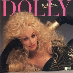 NEW-CD-Album-Dolly-Parton-Rainbow-Mini-LP-Style-Card-Case