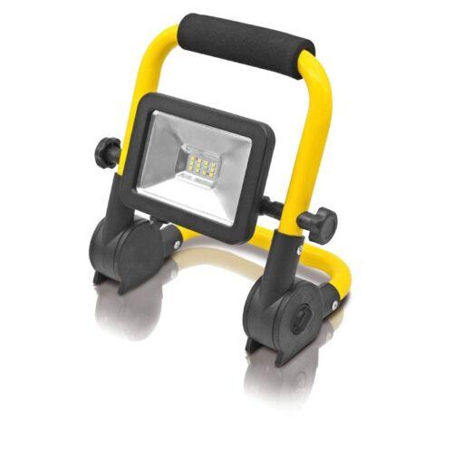 LED Strahler Tragegestell Ultradünn 12LED´s 10W Lampe Flutlicht Baustrahler