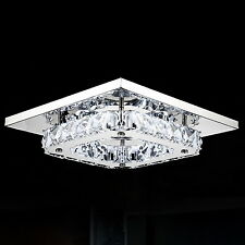 Crystal Ceiling Light Lamp Chandelier Pendant Fixture Fitting Flush Mount Lamp