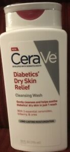 Cerave Diabetics Dry Skin Relief Cleansing Wash Long Lasting