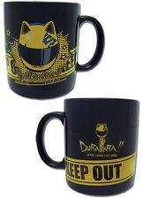 **License Cup** Durarara Celty & Helmet Icon Black Ceramic Coffee Mug #42614