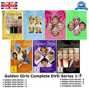 Golden-Girls-Series-1-7-Complete-Collection-1-2-3-4-5-6-7-New-UK-Compatible-DVD