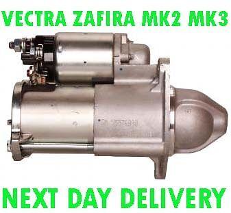 VAUXHALL VECTRA ZAFIRA MK2 MK3 1.6 1.8 2005 2006 2007  /> on RMFD STARTER MOTOR
