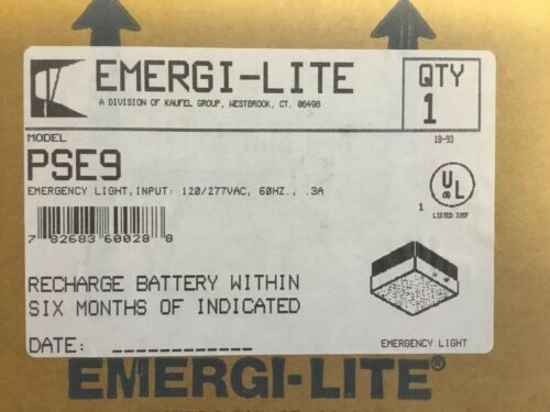 Emergi-Lite Model PSE9
