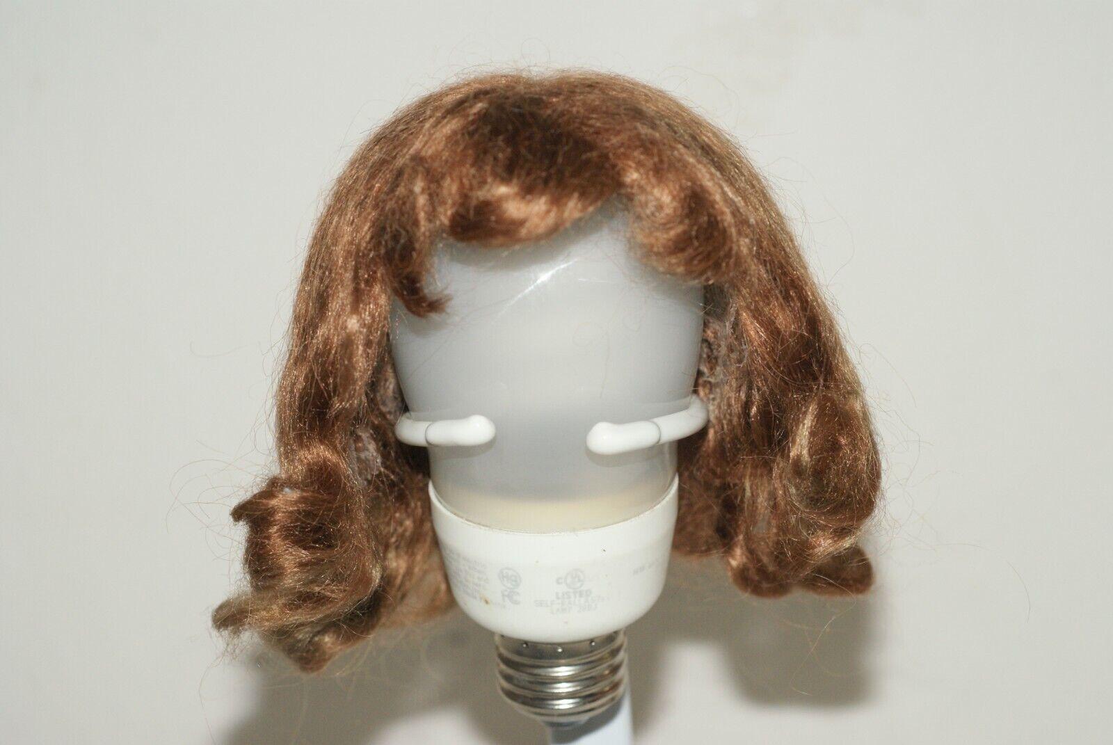 Original Vintage 13  Nancy arranbee R&B composición muñeca peluca de mohair