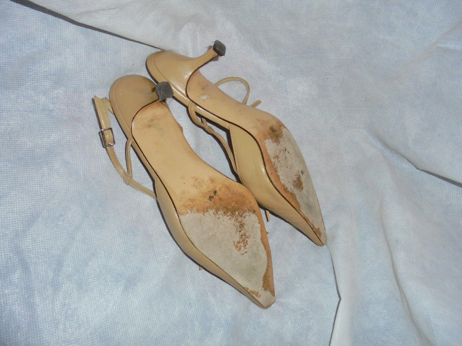 L.K. Bennett Mujer Hebilla de Cuero Tostado Correa Zapatos Talla en Uk 5.5 EU 38.5 en Talla muy buena condición 366af8