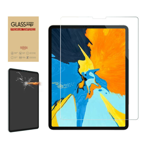 """Tempered Glass Screen Protector Film Protective For Apple iPad Pro 11 12.9/"""" 2018"""