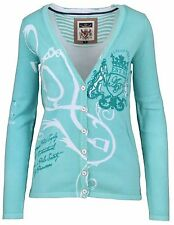 L' ARGENTINA Damen Strickjacke Cardigan Größe M - 38 100% Baumwolle Cotton NEU