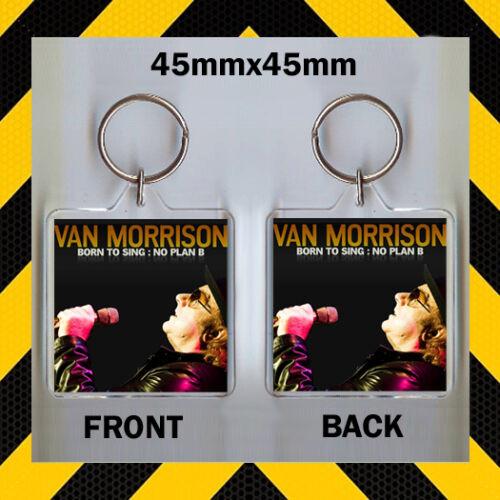 VAN MORRISON BORN TO SING NO PLAN B CD COVER KEYRING CD43987