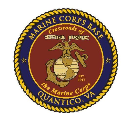US Marines Sticker Military Decal M330 Quantico