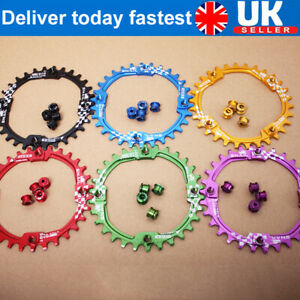US 104BCD 170mm Aluminum CNC MTB Road Bike Chainring Crank Crankset Bolts