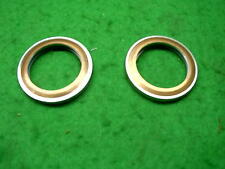 YAMAHA RD350LC YPVS TZR 250 PAIR COPPER / STEEL EXHAUST GASKETS 31K 1KT 1UA 1WT