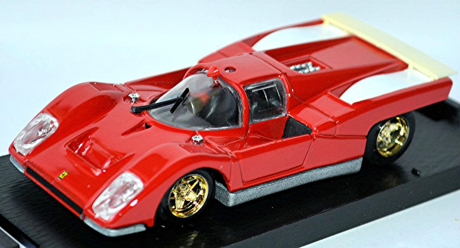 Ferrari 512M Predotipo 1970 Red Red 1 43 Brumm