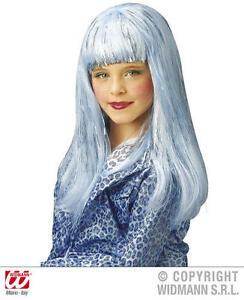 Childrens-Long-Blue-Wig-Lady-Gaga-Katy-Perry-Pop-Star-Fancy-Dress