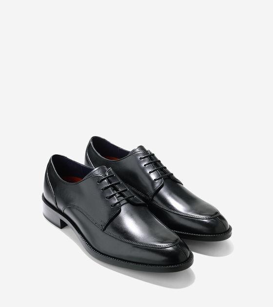 Cole Haan Hommes Chaussures Taille 8 M Noir en Cuir LENOX HILL Split Ox C11627