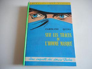 BIBLIOTHEQUE-VERTE-SUR-LES-TRACES-DE-L-039-HOMME-MASQUE-C-QUINE-1971