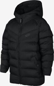 Détails sur Enfants Garçons Nike Gilet Veste d'hiver remplir manteau noir 939554 010 taille (XL) 13 15 Y afficher le titre d'origine