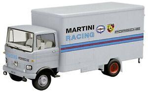 Schuco 450352800 - Mercedes Benz Lp 608, Martini Course Ovb 1 De 1000 Pièces