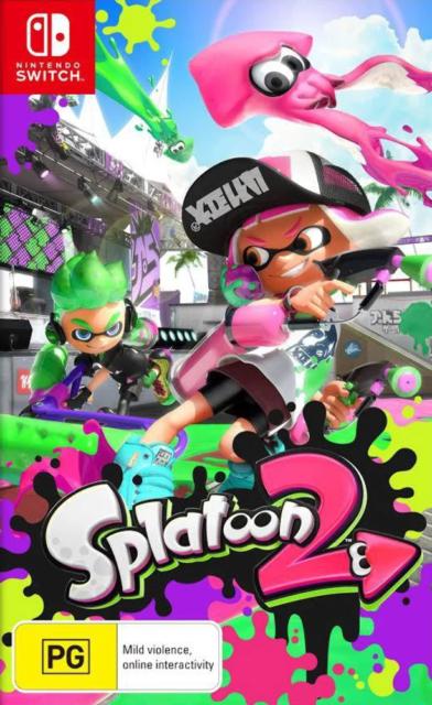 Splatoon 2 Switch Game NEW