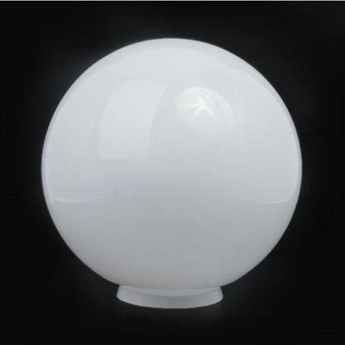 Abat-jour 4016-balle avec col-en Opal Verre-Blanc-Brillant-d.160mm//80mm