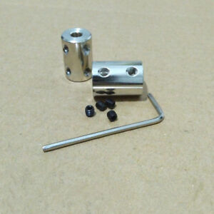 Alloy Elastic Couplings Adapter Substitute Collet Coupler Connector Shaft #1435