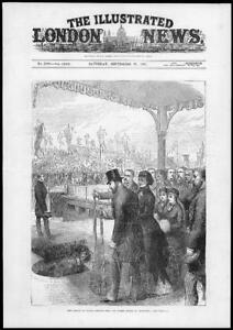 1881-Antique-Print-MERSEYSIDE-LIVERPOOL-New-North-Docks-Prince-Wales-163