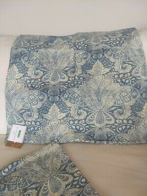 Pottery Barn Janelle Printed Pillow Cover 20x20 New Blue