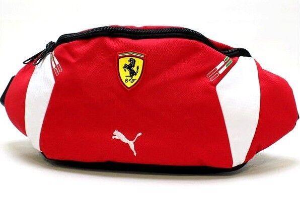 93afb7699b68 Authentic PUMA Scuderia Ferrari Red Fanny Waist Bag Pmmo1007 for sale  online