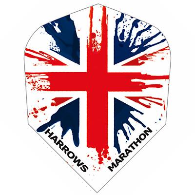 IRELAND Dart Flights HARROWS MARATHON Standard Shape EXTRA STRONG Flag
