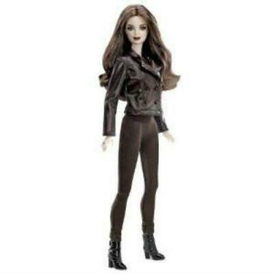 Barbie Doll The Twilight Saga Bella Outfit Brown Jumpsuit Leather Jacket Boots
